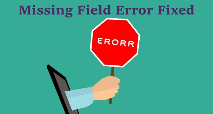 Missing Field Error Fixed in Search Console