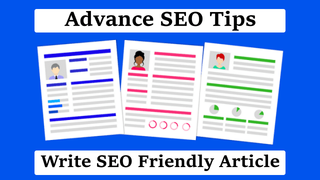 SEO Friendly Article Kaise Likhe (1st Position)
