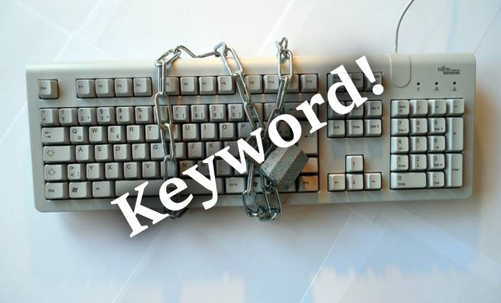 Keyword, Keyboard, Lock