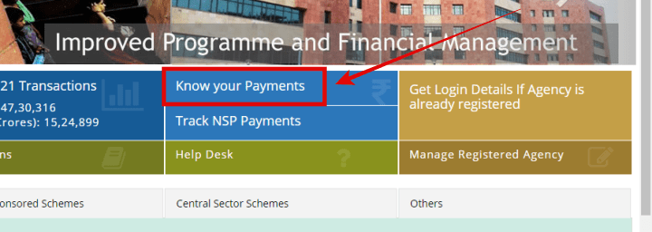 PFMS, Scholarship Kaise Check Kare, Know Your Payments